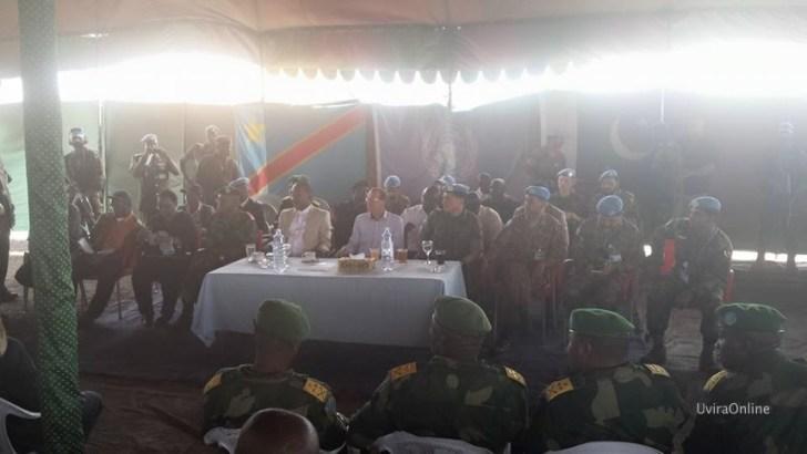 Uvira-RDC: Délégation de la MONUSCO et du Gouvernement à Mutarule