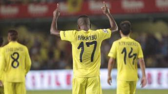 Football: Le congolais Cedric Bakambu marque son 3ème but en 3 matches et prend la 2ème place au classement des bueturs en Liga Espagnol