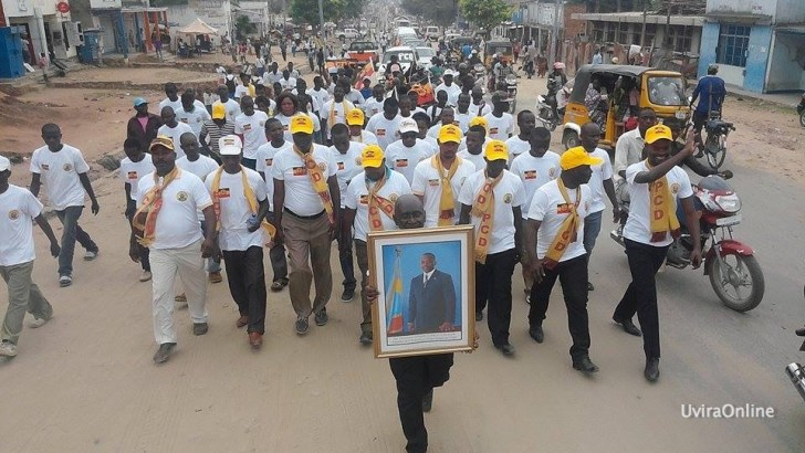 Uvira-RDC: Lancement officiel du  Parti des Congolais pour le Développemen (PCD)