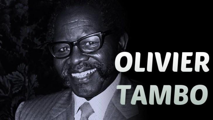 KUMBUKUMBU: OLIVIER REGINALD TAMBO