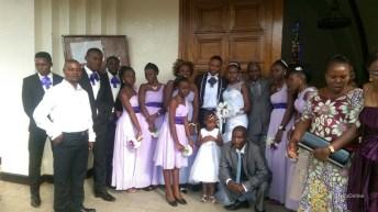 Bon mariage au couple Arielle Mangala & Alain Mugusha Kabakuli