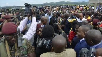 Bukavu-RDC: L'arrivée du Président Joseph Kabila à Bukavu ce mardi 22 décembre 2015