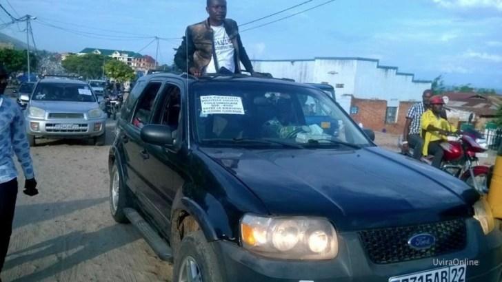 Uvira-RDC: Accueil du coordinateur de la Nouvelle Société Civile Congolaise M. CLAUDE MISARE