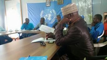 Kavinvira-RDC: Rencontre SCC et le representant  du secretaire general des nations unies au congo