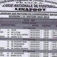 Division 1 : La Linafoot obtient du «financement» et livre le calendrier du Play-off