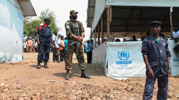 Sange-RDC: Manifestation des refugiés burundais à Sange dans la plaine de Ruzizi.