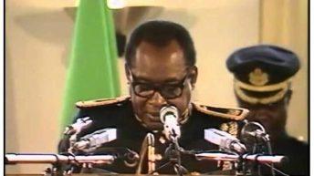 C'ÉTAIT un 24 avril, comme aujourd'hui… Mobutu  annonce la fin du parti unique et le multipartisme