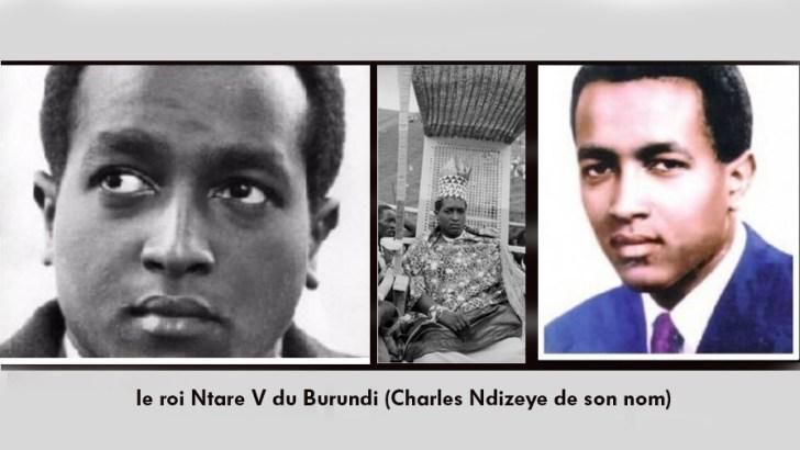 C'ÉTAIT un 29 avril, comme aujourd'hui…le roi Ntare V du Burundi est sauvagement assassiné