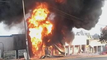 Uvira – RDC : Incendie d'origine inconnue à la station de Mr Richa Espoir