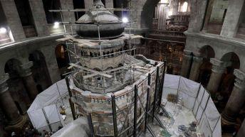 La tombe de Jésus ouverte à Jérusalem: Une première en au moins deux siècles