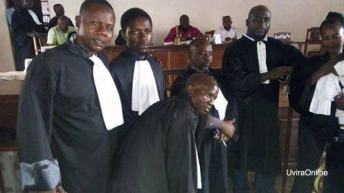 Uvira-RDC: Élection du SYNDIC du corps des défenseurs Judicaires