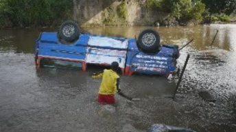 Luvungi-RDC: Accident de circulation l'après-midi de ce vendredi 6 janvier 2017