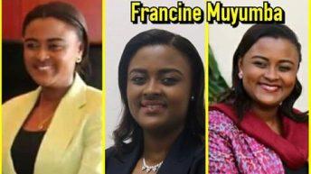 Personnalité du Sud-Kivu: FRANCINE MUYUMBA