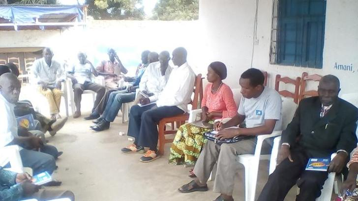 Sange-RDC:  SENSIBILISATION SUR LES DROIT DE REFUGIES