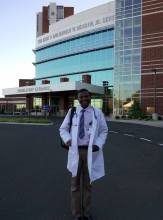 Alex Kayongo, MD, J1 Scholar from Uganda