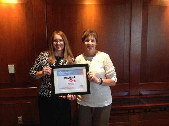 Jill Pam Comm Champion Award 1