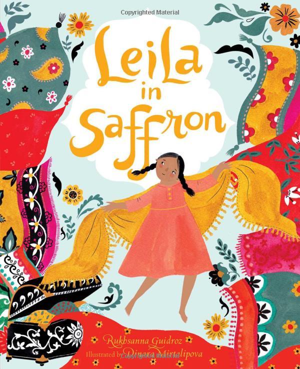 Leila in Saffron cover