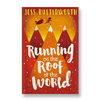 Running on the Roof of the world book cover