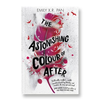 UK cover of the Astonishing Colour of After
