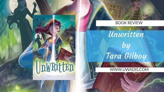 Unwritten by Tara Gilboy Book Review Blog Header