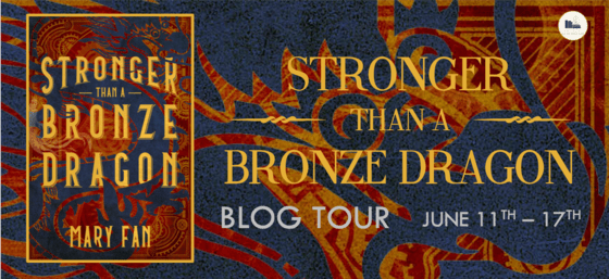 stronger than a bronze dragon blog tour header