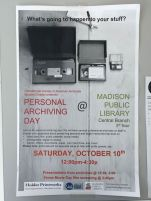 Personal Archives Day Poster