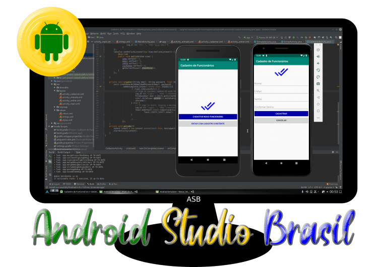 Canal Android Studio Brasil