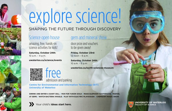 Science Open House 2015 Earth And Environmental Sciences