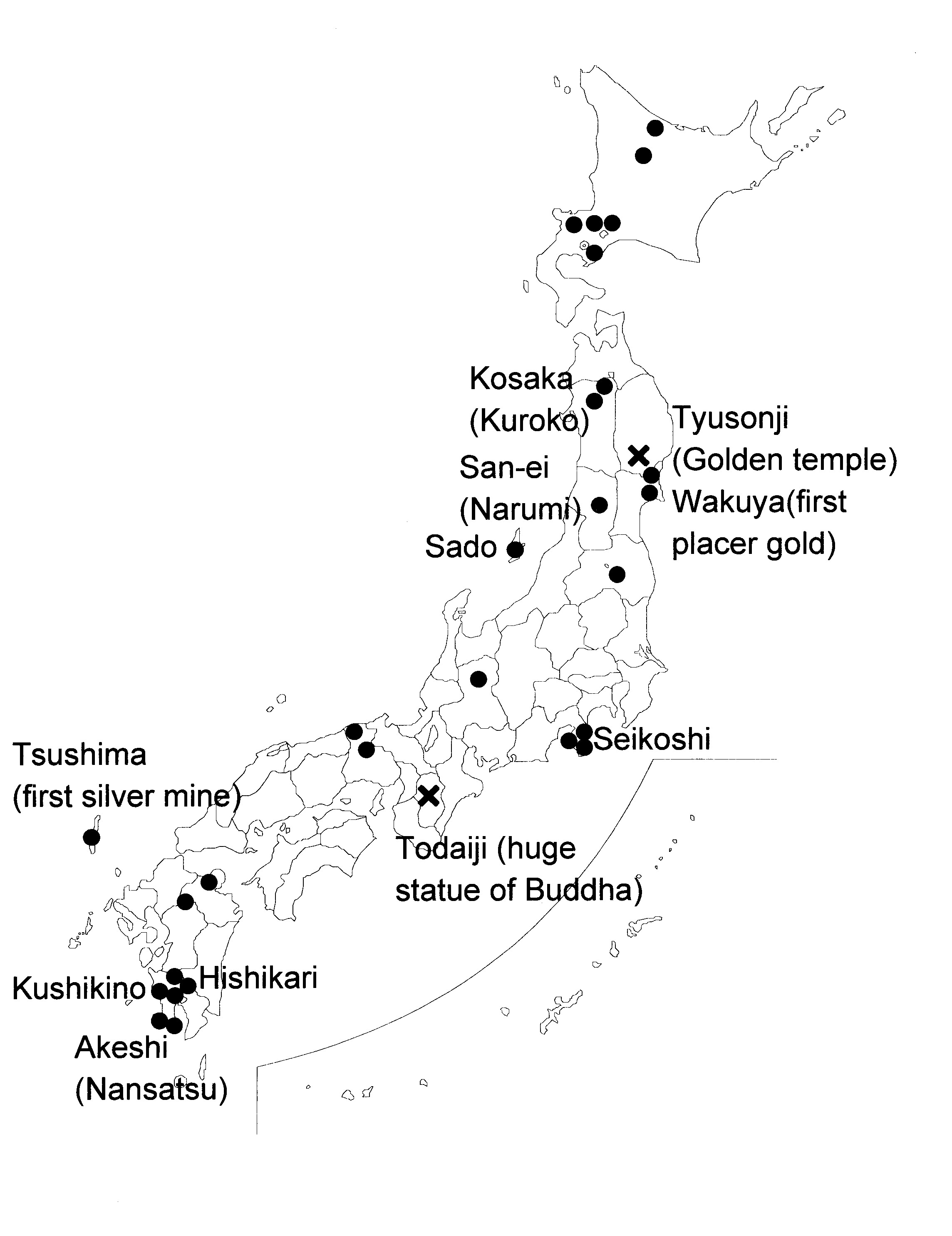 An Outline Of Japanese Gold And Silver Production