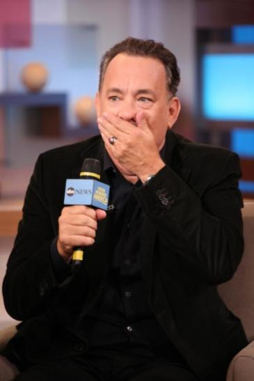 A gasping Tom Hanks