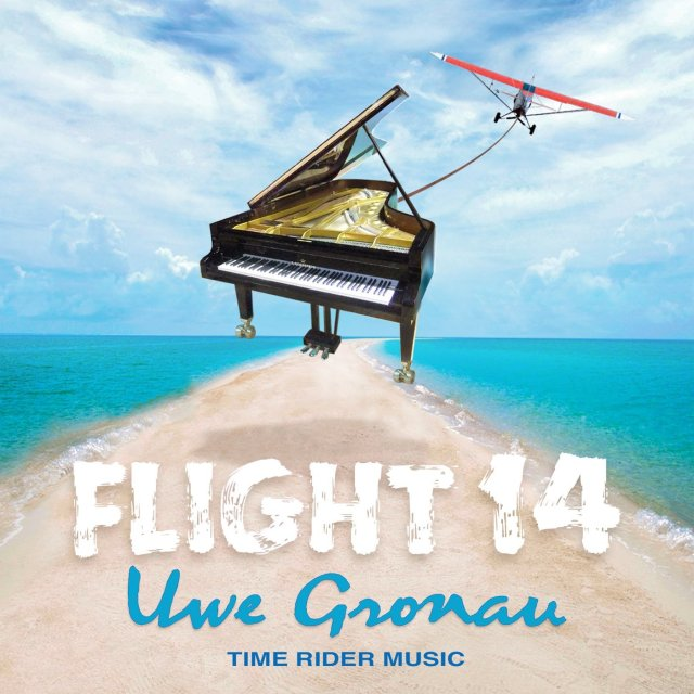 "CD-Cover ""Flight 14"" von Uwe Gronau, 2013"
