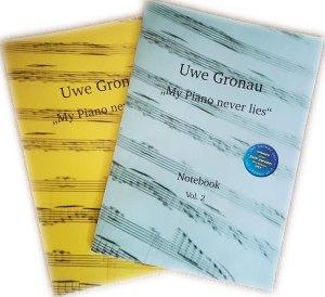 Notenhefte fürs Klavier von Uwe Gronau