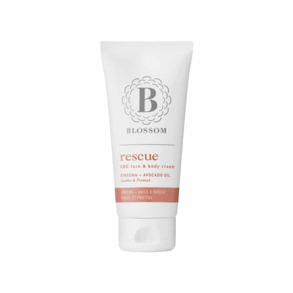 Blossom RESCUE - CBD Face and Body Cream with Ginseng & Avocado Oil, Face Care