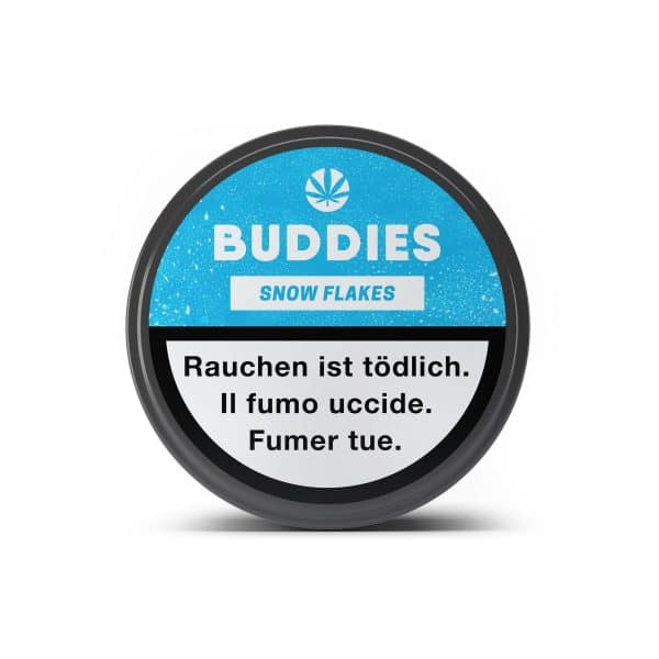 Buddies Snow Flakes 3, CBD Blüten