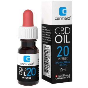 Cannaliz Original Full-Spectrum CBD Oil 20%, CBD Oil