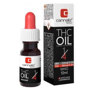 Cannaliz Technic THC-Öl - 1:4 Verhältnis (CBD/THC)