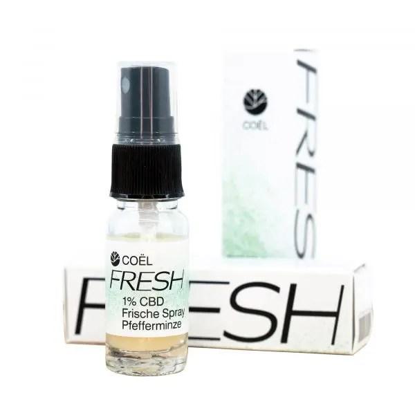 Herba di Berna Coel Mizellen Spray Fresh 1% CBD 1, Wasserlösliches CBD