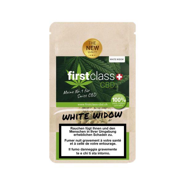 First Class CBD White Widow, CBD Blüten
