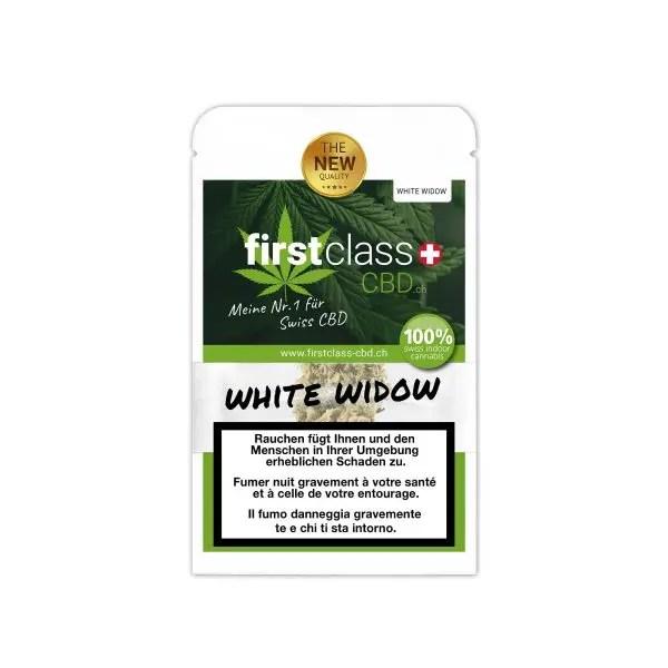 First Class CBD White Widow 1, CBD Blüten