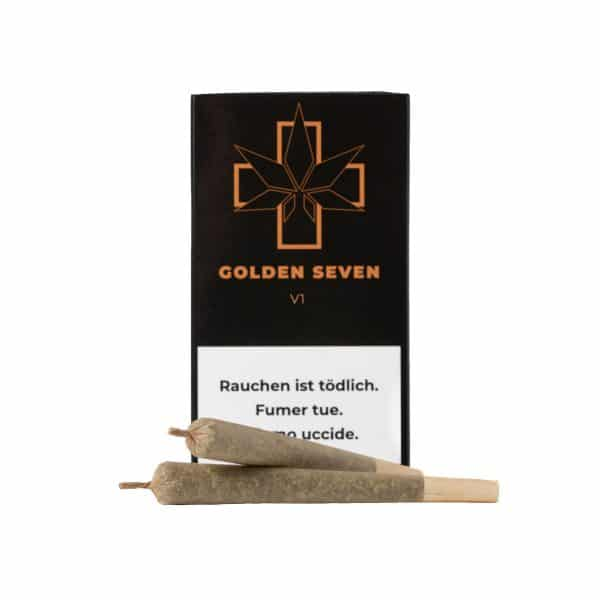 Golden Seven V1 CBD Joints, Pre-Rolled Joints