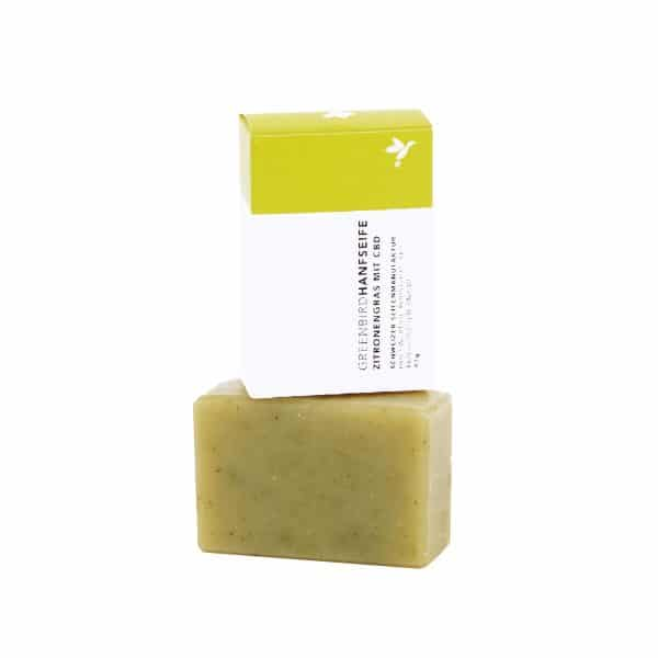 Greenbird Organic Hemp Soap & Lemongrass