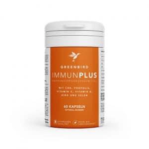 Greenbird ImmunPlus Capsules, CBD Capsules