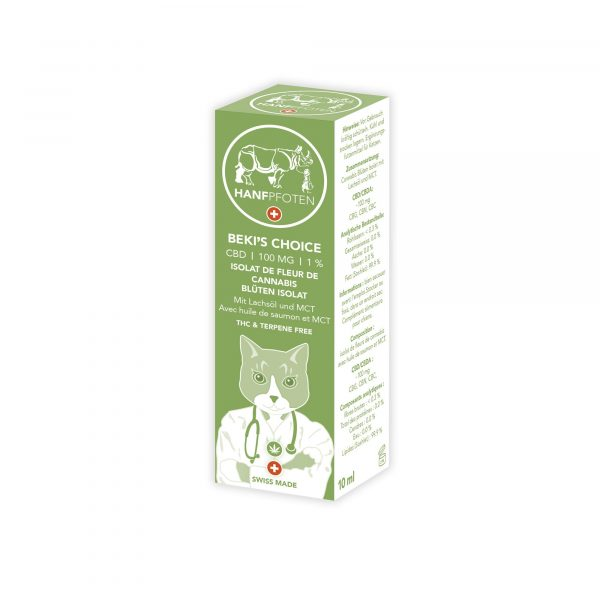 Hanfpfoten Beki's Choice - CBD Oil for Cats (100mg), CBD Oils for Pets