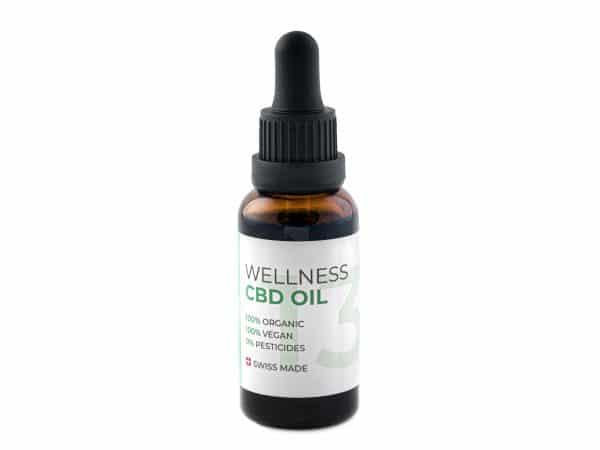 Naturalpes THC-free CBD Oil Wellness 13%, CBD Oil