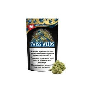 Pure Production Swiss Weeds Blue, CBD Flowers