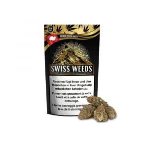 Pure Production Swiss Weeds Gold, CBD Flowers