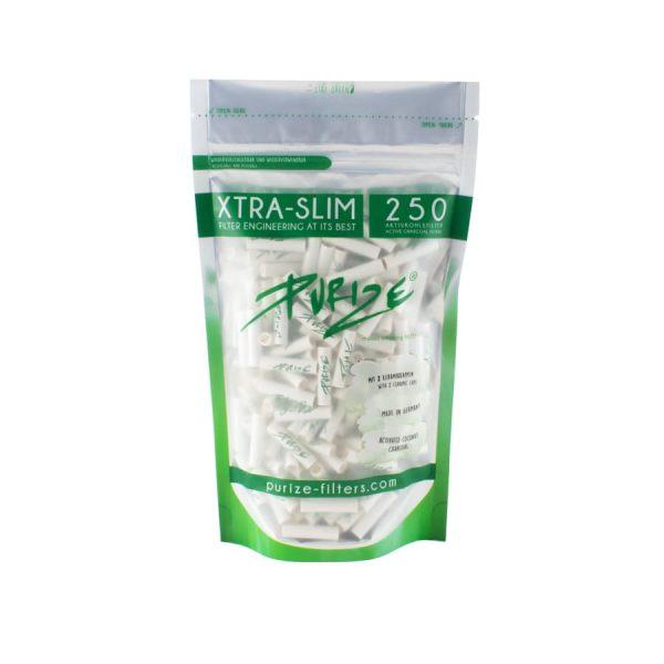 Purize Xtra Slim - Aktivkohle Filter 1, Joint Filter
