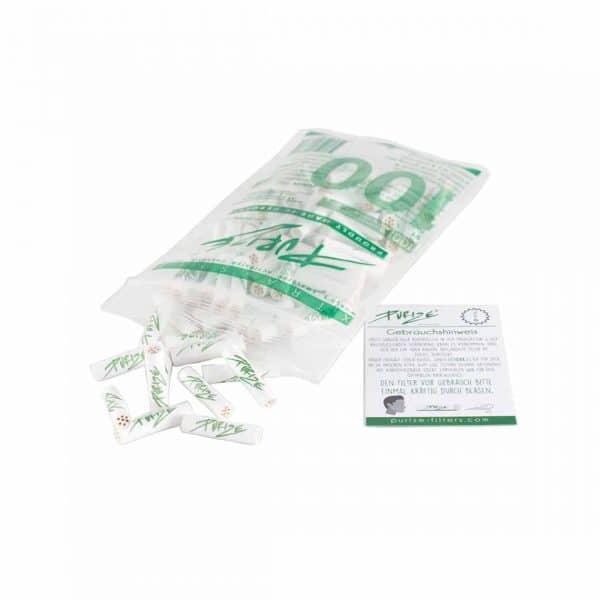 Purize Xtra Slim - Aktivkohle Filter 2, Joint Filter