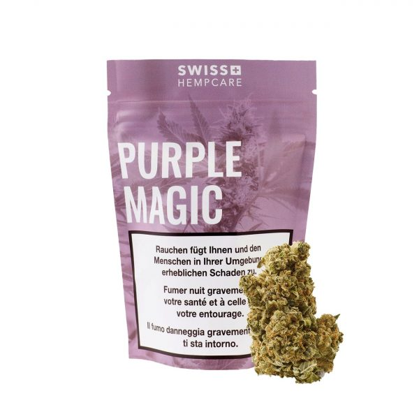 Swiss Hempcare Purple Magic, CBD Blüten