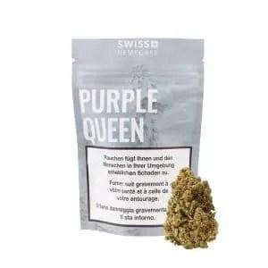 Swiss Hempcare Purple Queen, CBD Blüten